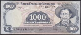 Ref. 2208-2631 - BIN NICARAGUA . 1985. NICARAGUA 1000 CORDOBAS 1985 - Nicaragua