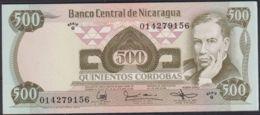 Ref. 2207-2630 - BIN NICARAGUA . 1985. NICARAGUA 500 CORDOBAS 1985 - Nicaragua