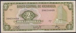 Ref. 2165-2588 - BIN NICARAGUA . 1972. NICARAGUA 2 CORDOBAS 1972 - Nicaragua