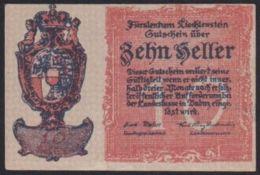 Ref. 2048-2471 - BIN LIECHTENSTEIN . 1920. LIECHTENSTEIN 10 HELLER 1920 - Liechtenstein