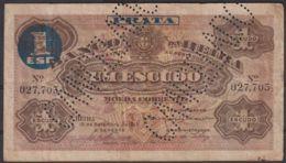 Ref. 2019-2442 - BIN MOZAMBIQUE . 1919. MOZAMBIQUE 1 ESCUDO 1919 CANCELADO - Mozambique