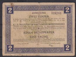 Ref. 1996-2419 - BIN MONTENEGRO . 1917. MONTENEGRO 2 PERPER 1917 - Serbia