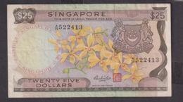 Ref. 1979-2402 - BIN SINGAPORE . 1972. 25 DOLLARS SINGAPORE 1972 - Singapur