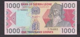 Ref. 1973-2396 - BIN SIERRA LEONE . 1993. 1000 LEONES SIERRA LEONE 1993 - Sierra Leone