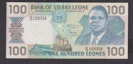 Ref. 1970-2393 - BIN SIERRA LEONE . 1989. 100 LEONES SIERRA LEONE 1989 - Sierra Leone