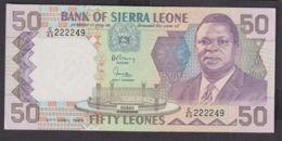 Ref. 1969-2392 - BIN SIERRA LEONE . 1989. 50 LEONES SIERRA LEONE 1989 - Sierra Leone