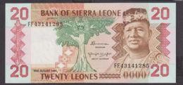 Ref. 1966-2389 - BIN SIERRA LEONE . 2020. 20 LEONES SIERRA LEONE 1984 - Sierra Leone