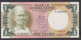 Ref. 1962-2385 - BIN SIERRA LEONE . 1984. 1 LEONE SIERRA LEONE 1984 - Sierra Leone