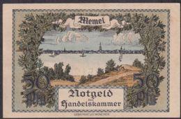 Ref. 1824-2247 - BIN MEMEL . 2020. MEMEL 1/2  MARK GERMANY 1922 - Eerste Wereldoorlog