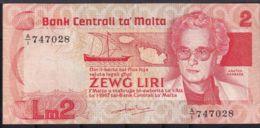 Ref. 1774-2197 - BIN MALTA . 2020. MALTA 2 LIRI  1967 - Malta
