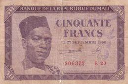 Ref. 1754-2177 - BIN MALI . 1960. MALI 50 FRANCS 1960 - Malí