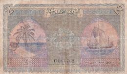 Ref. 1739-2162 - BIN MALDIVES . 1960. MALDIVAS 2 RUFIYAA 1960 - Maldives