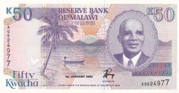 Ref. 1730-2153 - BIN MALAWI . 1994. 1994 MALAWI 50 KWACHA - Malawi