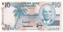 Ref. 1728-2151 - BIN MALAWI . 1992. 1992 MALAWI 10 KWACHA - Malawi