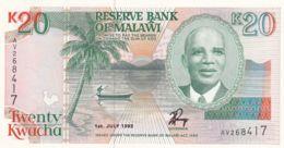 Ref. 1729-2152 - BIN MALAWI . 1993. 1993 MALAWI 20 KWACHA - Malawi