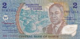 Ref. 1576-2013 - BIN SAMOA . 1990. SAMOA 2 TALA 1990 - Samoa