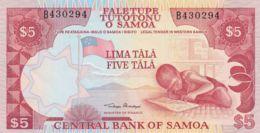Ref. 1573-1995 - BIN SAMOA . 1985. SAMOA 5 TALA 1985 - Samoa