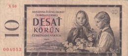 Ref. 1493-1915 - BIN CZECHOSLOVAKIA . 1960. CZECHOSLOVAKIA 10 KORUN 1960 - Checoslovaquia