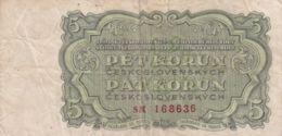 Ref. 1488-1910 - BIN CZECHOSLOVAKIA . 1953. 5 KORUN 1953 - Czechoslovakia
