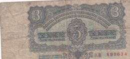 Ref. 1487-1909 - BIN CZECHOSLOVAKIA . 1961. 3 KORUN 1961 - Czechoslovakia