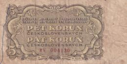 Ref. 1486-1908 - BIN CZECHOSLOVAKIA . 1953. 5 KORUN 1953 - Czechoslovakia