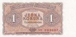 Ref. 1484-1906 - BIN CZECHOSLOVAKIA . 1953. CZECHOSLOVAKIA 1 KORUNA 1953 - Czechoslovakia