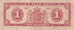 Ref. 1441-1863 - BIN CURA�AO . 1942. CURACAO 1 GULDEN 1942 - Antilles Néerlandaises (...-1986)