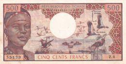 Ref. 1443-1865 - BIN CHAD . 1974. CHAD TCHAD 500 FRANCS 1974 - Tchad
