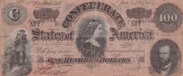 Ref. 1421-1843 - BIN UNITED STATES . 1864. $100 DOLLARS CONFEDERATE RICHMOND 1864 - Verenigde Staten