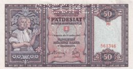 Ref. 1370-1792 - BIN SLOVAKIA . 1940. SLOVENSKA 50 KORUN 1940 SPECIMEN - Slowakije