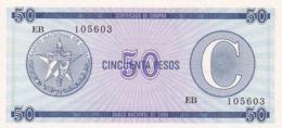 Ref. 1352-1774 - BIN CUBA . 1985. CUBA 50 PESOS 1985 CERTIFICADO DE COMPRA - Cuba