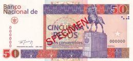 Ref. 1305-1727 - BIN CUBA . 1994. CUBA 50 PESOS CONVERTIBLES 1994 SPECIMEN - Cuba