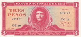 Ref. 1240-1662 - BIN CUBA . 1989. CUBA 3 PESOS 1989 - Cuba