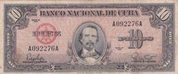 Ref. 1226-1648 - BIN CUBA . 1960. CUBA 10 PESOS 1960 - Cuba