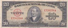Ref. 1201-1623 - BIN CUBA . 1949. CUBA 20 PESOS 1949 ANTONIO MACEO - Cuba