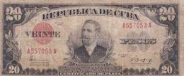 Ref. 1197-1619 - BIN CUBA . 1943. CUBA 20 PESOS 1949 - Cuba