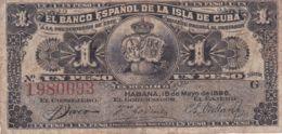 Ref. 1187-1609 - BIN CUBA . 1896. CUBA 1 CENTAVOS PESOS 1896 - Cuba