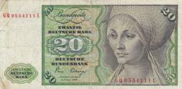 Ref. 1107-1529 - BIN GERMANY . 1980. GERMANY 20 MARK 1980 - Zonder Classificatie