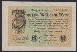 Ref. 1047-1469 - BIN GERMANY . 1923. GERMANY 20 MILLION MARK 1923 - [ 3] 1918-1933: Weimarrepubliek