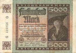 Ref. 1027-1449 - BIN GERMANY . 1922. GERMANY 500 MARK 1922 - [ 3] 1918-1933: Weimarrepubliek