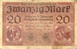 Ref. 1013-1435 - BIN GERMANY . 1918. GERMANY 20  MARK 1918 - Zonder Classificatie