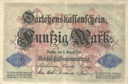 Ref. 1009-1431 - BIN GERMANY . 1914. GERMANY 50 MARK 1914 - Zonder Classificatie