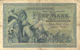 Ref. 995-1417 - BIN GERMANY . 1904. ALEMANIA GERMANY0 MARK 1904 - Zonder Classificatie