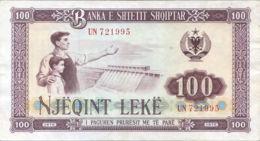 Ref. 983-1405 - BIN ALBANIA . 1976. ALBANIA SHQIPERISE 100 LEK 1976 - Albanien