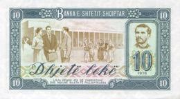 Ref. 980-1402 - BIN ALBANIA . 1976. ALBANIA SHQIPERISE 10 LEK 1976 - Albanien