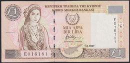 Ref. 770-1192 - BIN CYPRUS . 1997. CHIPRE 1 POUND 1997 PICK 57  SC - Cyprus