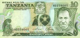 Ref. 619-1018 - BIN TANZANIA . 1978. 10 SHILINGI TANZANIA 1978. 10 SHILINGI TANZANIA 1978 - Tanzania