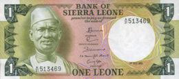 Ref. 614-1013 - BIN SIERRA LEONE . 1981. 1 LEONE SIERRA LEONE 1981. 1 LEONE SIERRA LEONE 1981 - Sierra Leone