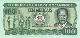 Ref. 550-947 - BIN MOZAMBIQUE . 1989. MOZAMBIQUE 1989 100 METICAIS MO�AMBIQUE. MOZAMBIQUE 1989 100 METICAIS MO�AMBIQUE - Mozambique