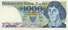 Ref. 543-940 - BIN POLAND . 1982. 1000 ZLOTYCH POLAND 1982. 1000 ZLOTYCH POLONIA 1982 - Poland